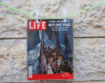 Vintage LIFE magazine 17 June 1957 // Vintage LIFE 1957 // Vintage LIFE // Vintage magazine //60s