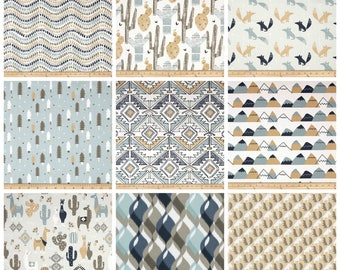 Modern Curtains- Drapery Panels- Awendela Curtains- Tan Curtains- Blue Curtains- Custom Drapes- Beige Nursery Curtains- Desert Decor Valance