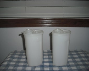 Vintage Tupperware Sweet Saver Syrup Containers