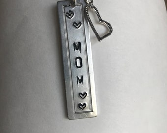 Mothers Day Hand-Stamped Necklace