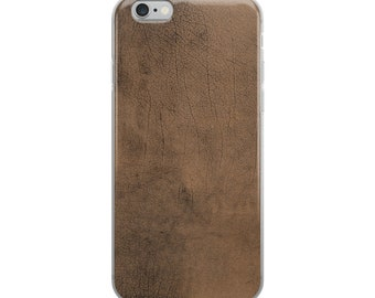 Leathery iPhone Case