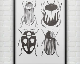 Four Bugs