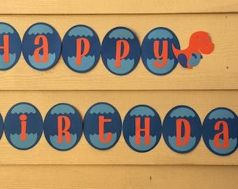 Dinosaur Party Banner, Dinosaur Birthday Party Banner, Dinosaur Birthday Banner, Dinosaur Baby Shower, Dinosaur Birthday for Boys
