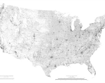 United States Infrastructure Map
