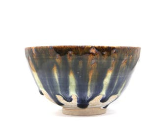 Bowl 201, Contemporary abstract style, Handmade pottery