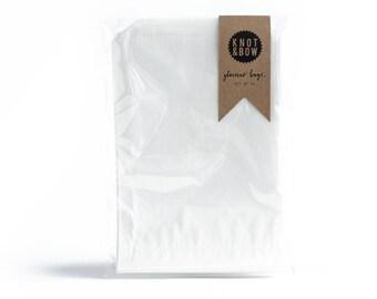 25 Large Glassine Bags