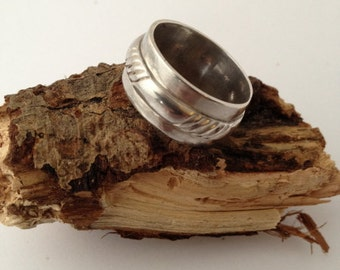 sterling silver handmade unisex ring