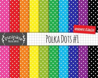 Small Polka Dot Digital Paper, Background Paper, Digiscrap, Scrapbooking, Instant Download