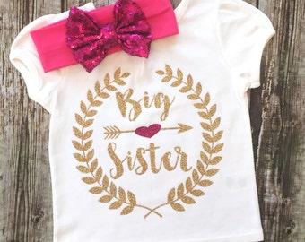 Baby Girl Clothes Big Sister Little Sister Shirts Sibling Shirts Baby Girl Bodysuit, Sister Bodysuit Girl Baby Girl Little Sister Bodysuit