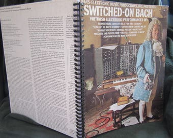 """Wendy Carlos """"Switched on Bach"""" Album Cover Notebook"""