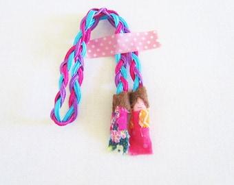ON SALE Amulet worry dolls bracelet / Pulsera amuleto Quitapenas