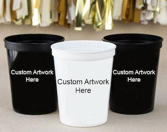 Custom Artwork Stadium Cups