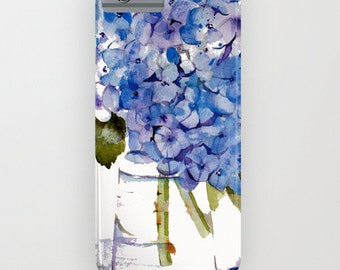 Cell Phone Case, Cape Cod Hydrangeas