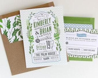 Custom Wedding Invitation Design Suite