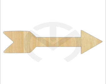 Arrow - 01639- Unfinished Wood Laser Cutout, Home Decor