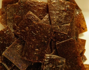 Spiced Plum Fruit Leather Bites - 2 oz. - GREAT for you AND your dog