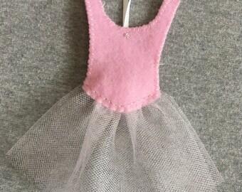 Ballerina Dress Christmas Ornament, Ballet, Tutu
