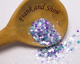 So'licious solvent resistant nail glitter mix