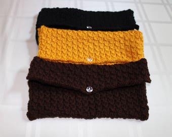 Knit Clutch