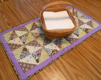 """Quilted Table Runner...in """"Pinwheels"""""""
