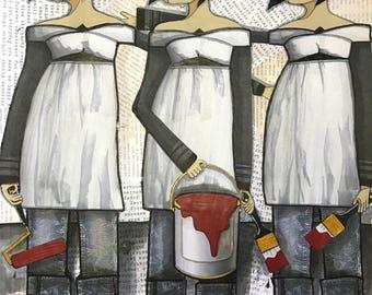 "Maryjane's Art Print 11"" x 14"""