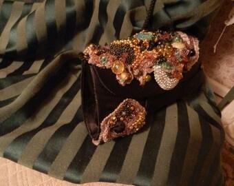 Bejeweled OOAK evening clutch