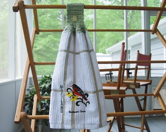 Maryland Baltimre Oriole Hanging Towel