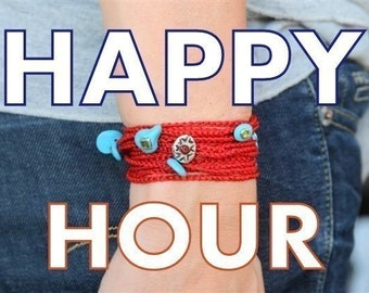 Happy Hour - second purchase automatic DISCOUNT card OFFER - 3 USD off for purchasing more than one piece at the same time