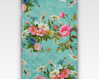 Case for iPhone 8, iPhone 6s, iPhone 6 Plus, iPhone 5s, iPhone SE, iPhone 5c, iPhone 7 - Vintage Wildflowers Floral Pattern Case