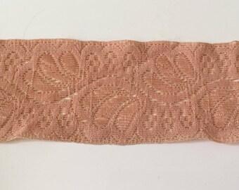 Ribbon lace elastane 5 cm