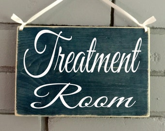 In Session Do Not Disturb Spa Massage Office Open Closed Treatment Room (Choose Color) Salon Massage Spa Office Rustic Welcome Door Plaque