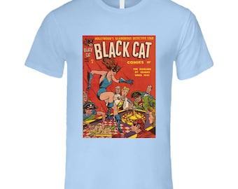 Black Cat #3 T Shirt
