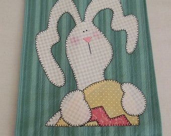 Easter Bunny Tea Towel