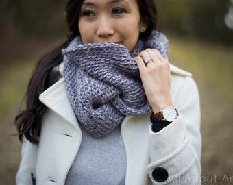 Cobblestone Cowl Crochet Pattern