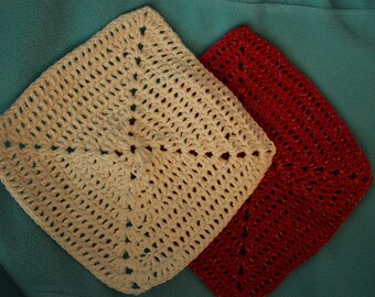 Handmade Crocheted Dish Cloths
