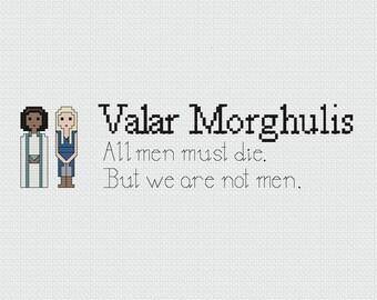 Daenerys and Missandei Cross Stitch Pattern (PDF)