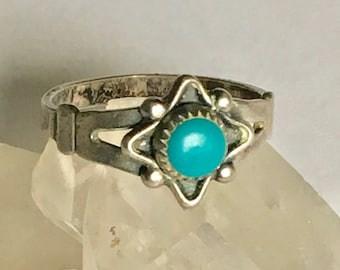 vintage bell trading post ring size 5.75