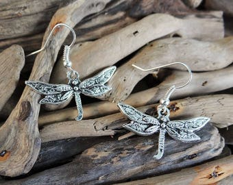 Dragonfly Earrings Dragon Fly Dragonflies Earring Ear Ring Rings Dragon Flies