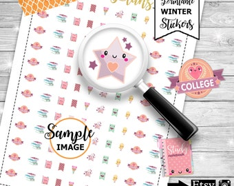 College Planner Stickers, Printable College Stickers, Study Stickers, School Stickers, School Planner Stickers