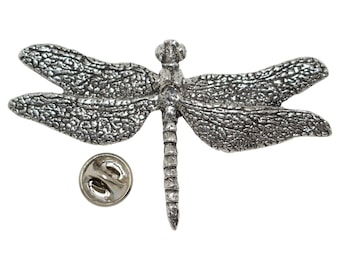 Pewter ~ Dragonfly ~ Lapel Pin / Brooch ~ A033