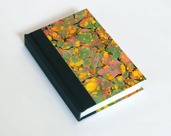"""Sketchbook 4x6"""" with motifs of marbled papers - 23"""