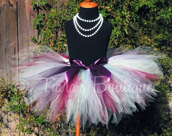 Sugar Plum Fairy Tutu - Custom Sewn 11'' Pixie Tutu - Sizes newborn up to 5T - Kingdom of the Sweets Collection by Tiara's Boutique