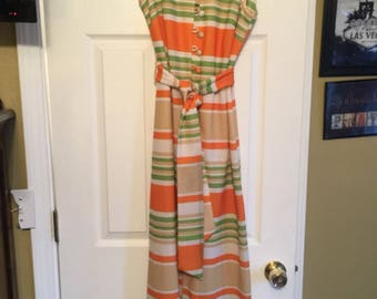 Awesome 70/60 vintage dress sz Med