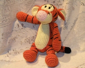 INSTANT DOWNLOAD - PDF - Tigger - the Winnie the Pooh's friend - 11.2 inches / 28 cm amigurumi crochet pattern