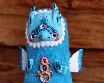 dragon doll fantasy creature dragon toy kawaii dragon cute ooak doll collectible toy dragon figurine