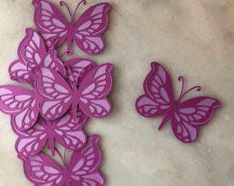 Butterfly Cupcake Topper,  12ct