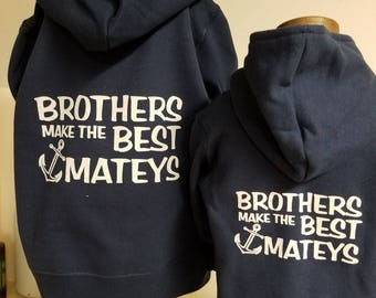 Nautical Brothers Sweatshirt - Infant, Toddler, Youth & Adult