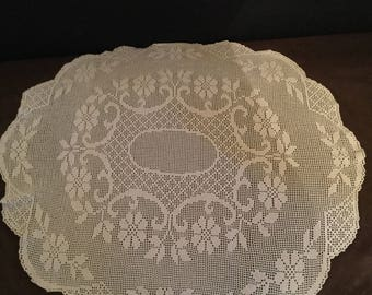 Knitted lace 70 sm