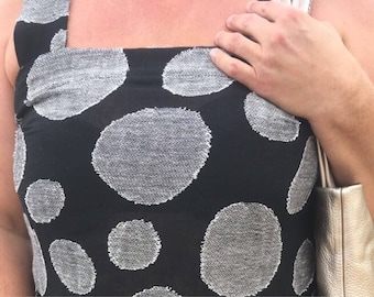 Linen top Linen women shirt Linen women blouse Linen tank top Sleeve less top black grey
