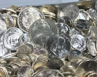 RARE VINTAGE COINS United States Collectable Coin Lot Silver Bullion Unc Antique Coins Pre-1964 Old Money Estate Sale Unsearched Collection!